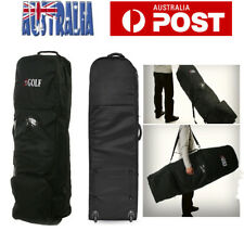Travel Golf Bag Cover Golf Flight rotective Carrying Cases Cover with Wheels AU