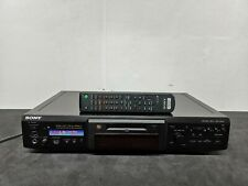 More details for sony mds-je640 minidisc player/recorder - fully working with remote control