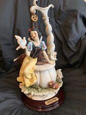 Giuseppe Armani Disney Snow White at the Wishing Well Disneyana Limited /2000