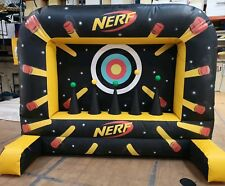 BOUNCY CASTLE NERF SHOOTING GAME