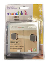 Munchkin Xtraguard Dual Action Multiuse Latch - 2 Pack