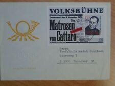 DDR - FDC MiNr. Block 96, 100. Geburtstag von Friedrich Wolf, M€ 10,00