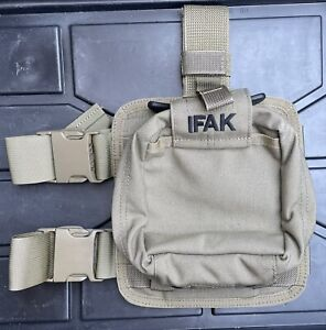 SO Tech Individual Medical Aid Pouch IFAK with Drop Leg Panel * NEW