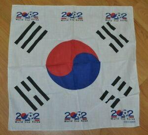 2002 World Cup South Korea Head Wrap Bandana FIFA Flag Nice Soccer Football Flag