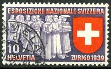 SWITZERLAND - SVIZZERA - 1939 - Esposizione naz. a Zurigo - 10 c. (in italiano).