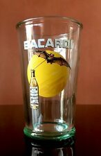 Bacardi Limited Edition Frosted Green Glass