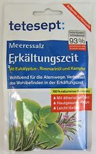 tetesept Meeressalz Erkältung bath salts -Made in Germany