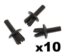 10x Volvo Plastic Expansion Rivets- Trim Clips for Radiator Grille Badge Emblem