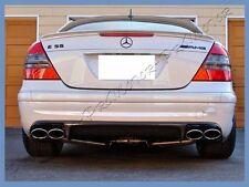 Pick Color Fit 03 09 Mereceds Benz W211 E350 E500 E550 E55 AMG Look Rear Spoiler