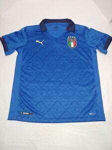 Puma Italy 2020/21 Home Youth Jersey 756446-01 Size Medium Retail $70