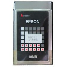 EPSON 10MB FLASH PCMCIA Card 68PINS 10MB ATA PC Card , Made In USA