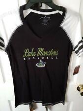Vermont Lake Monsters Womens Soft Shirt New York Penn League