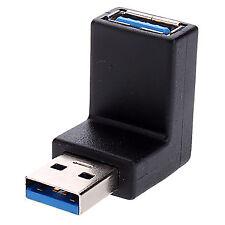 Raccomandata P. - Adattatore USB 3.0/2.0 Tipo A Maschio / Tipo A Femmina Angolat