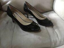Ellen Tracy Patent Leather Black Pumps Size 8.5