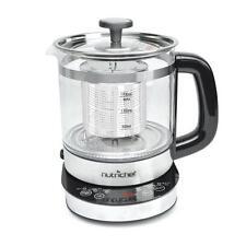 NUTRICHEF 2-in-1 Electric Kettle - Tea Brewing Kettle, Water Boiler & Warmer