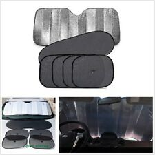 6pcs Auto Car Sun Shade Window Windshield UV Protect Sun Visor Cover Suction Cup