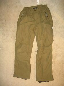 #7961 REDUCED! RIPZONE SKI SNOWBOARD SHELL PANTS MEN'S LARGE EXC. USED