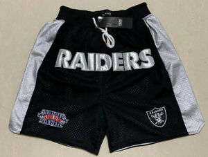 Men's Las Vegas Raiders shorts embroidery Pants Summer Causal trousers