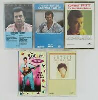 Lot Of 5 Conway Twitty Audio Cassette Tapes