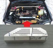 Pour Subaru Forester Sf 1999-2002 Acier Inoxydable Moteur Housse Panel Generator