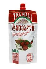 Sauce Tkemali Georgian Sachets Individual 1Tkemali Red Classic  245 g for Meat