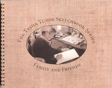 Fine 1990s First Ed HC SIGNED Tasha Tudor Sketchbook Series Family and Friends