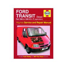 Ford Transit 2.5 Diesel 1986-99 (C to T Reg) Haynes Manual