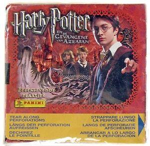 Harry Potter Prisoner of Azkaban Panini 50 packs Stickers
