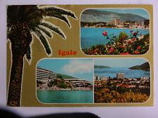 Igalo Spa Vtg. 1979 YUGOSLAVIA Postcard Rare STAMP