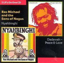 RAS MICHAEL - CD Roots Reggae  Dadawah Peace & Love Nyahbinfhi Sons Of Negus