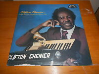 Clifton Chenier SEALED 80s CAJUN ZYDECO LP Self-titled 1984 USA ISSUE