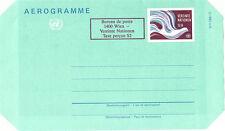 Nazioni UNITE 1986 S9 + S2 scarse PACE COLOMBA Airletter Nuovo di zecca/inutilizzato Vienna
