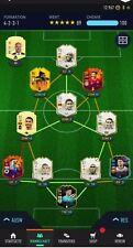 FIFA 21 compte PS4 ** PREMIER Eusebio, bébé R9, Mid Etoo, CR7, EOAE Rooney + plus