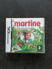 JEU NINTENDO DS  3DS : MARTINE A LA MONTAGNE   C4
