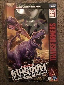 Transformers Gen Kingdom WFC Beast Wars MEGATRON Voyager Factory sealed New