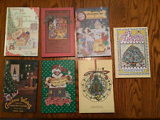 Seven different Christmas books by CYNTHIA HOLT CUMMINGS (Signed)
