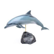Kaiyoukoubou Bottlenose Delphin Echt Figur Fisch Schnitzerei Hand
