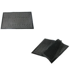 """New Indoor Commercial Industrial Heavy-Duty Anti-Fatigue Floor Mat 36""""x60"""" Black"""