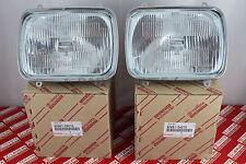 JDM Toyota Sprinter Trueno Corolla AE86 OEM Sealed Beam Headlights LH & RH PAIR