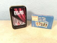 2 Sets Of ELVIS PRESLEY Playing Cards Collectors' Items NIP