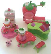 Strawberry Shortcake Berry Cafe Dollhouse Furniture Doll Cake Blender Register
