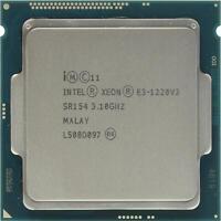 Intel Xeon E3-1220 V3 4-Core 3.1GHz 8M Socket LGA 1150 SR154 80W CPU Processor