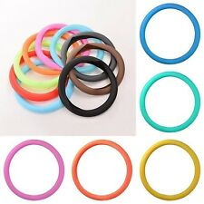 Soft Silicone Leather Texture Car Auto Steering Wheel Glove Cover Glow 8 Colors