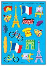 68 divertimenti EN FRANÇAIS – PROFUMO Profumato Scratch N sniffare Adesivi Ricompensa