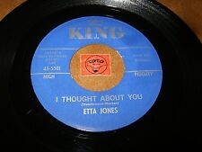ETTA JONES - I THOUGHT ABOUT YOU - DON'T WORRY BOUT ME  / LISTEN - JAZZ  POPCORN