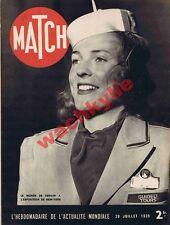 Match n°55 du 20/07/1939 exposition de New-York Kremlin Urss légion étrangère