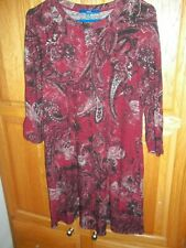 PRETTY WINTER DRESS WITH POCKETS SIZE M APT. 9 free shipping