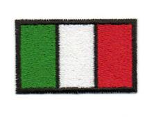 PATCH RICAMO TOPPA BANDIERA ITALIA cm. 5X3 PER DIVISE O ALTRO