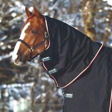 Horseware Rambo OPTIMO TURNOUT HOOD Neck Cover Heavy 150g Black/Orange S-XXL