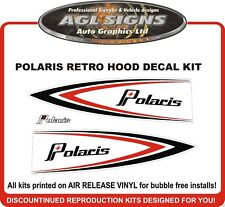 POLARIS RETRO HOOD DECAL KIT  440 500 600 800 XC XCR RXL RMK